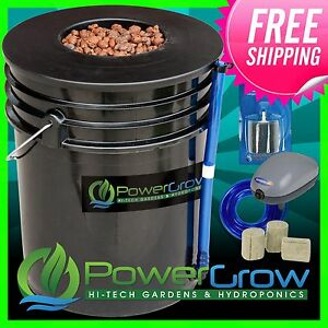 PowerGrow-6-5-Gallon-Deep-Water-Culture-DWC-Hydroponic-Bucket-System-Kit