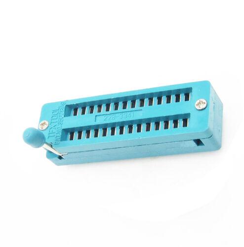 Narrow-Body 28 Pin 28P Universal ZIF DIP Test Tester IC Steckdose 2.54MM