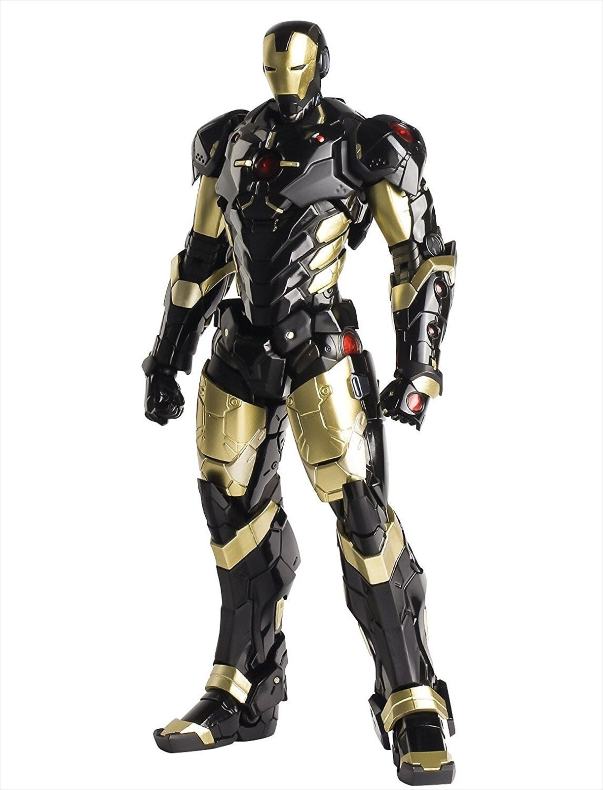 Sentinel Re  modificar Iron Man Marvel Now  ver. figura de acción de oro negro X