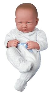 SOFT BLUE SPOTTY BABYGROW FOR  46 CM BABY ANNABELL DOLL BY FRILLY LILY