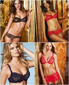 1cd67e431a Victoria s Secret ANGEL FANTASIES EMBELLISHED RED   BLACK   BLUE BRA ...