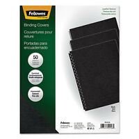 Fellowes Executive Presentation Binding System Covers 11-1/4 X 8-3/4 Black 50 on sale