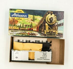 HO-Scale-Athearn-WofA-Western-Railway-of-Alabama-40-039-Single-Door-Box-Car-18254