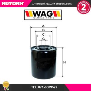 WO594-Filtro-olio-Citroen-Peugeot-Fiat-Renault-MARCA-WAG