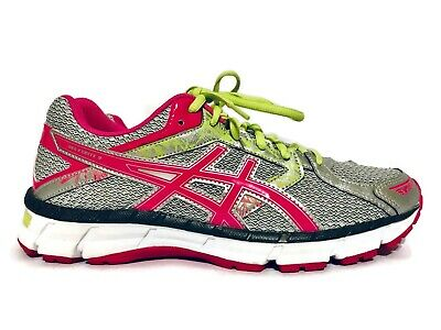 ASICS Gel Excite 3 Womens Size 10 Running Shoes GrayPink Neon Very Little Use | eBay