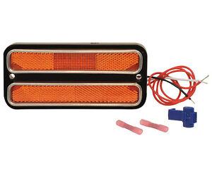 LED AMBER SIDE MARKER LIGHT  1968-1969-1970-1971-1972 CHEVROLET OR GMC TRUCK