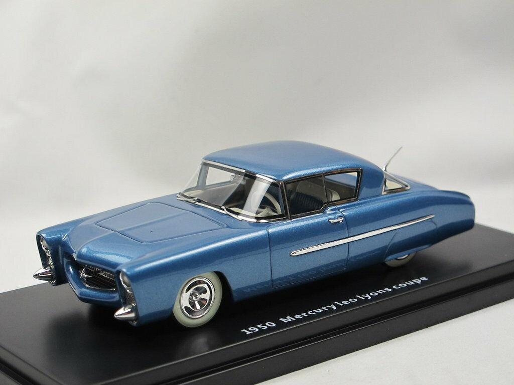ESVAL MODELS - 1950 Mercury Leo Lyons Coupe bluee metallic Limited Edition 1 43