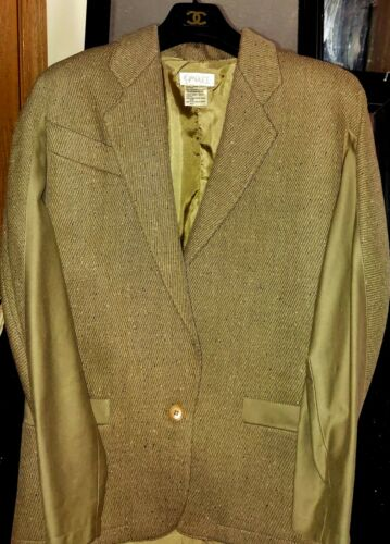 Wool And Silk COMPLICE Italian Jacket
