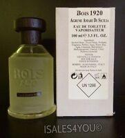 Bois 1920 Agrumi Amari Di Sicilia Eau De Toilette 3.3 Oz Tester With Cap