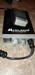 MIDLAND-Model-77-104-40-CH-2-Way-CB-Radio-Transceiver-w-mic