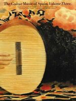 The Guitar Music Of Spain Volume 3 Sheet Music Book 014013515