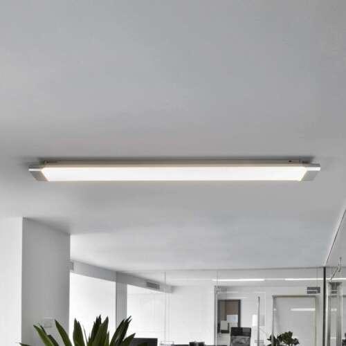 LED Deckenleuchte Vinca Hell Büro Arbeitszimmer 90 cm Leuchtstarke Deckenlampe