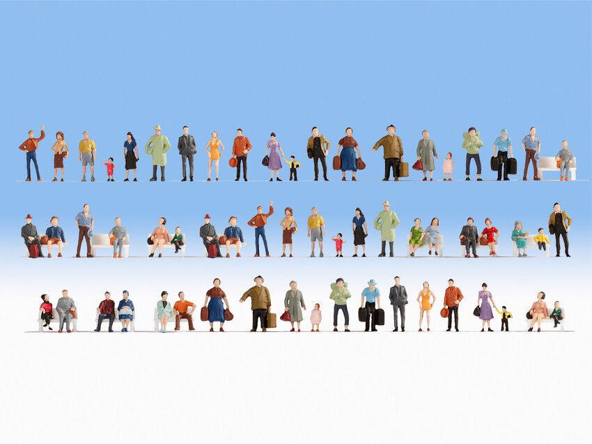 Ancora 38401 Spur N MEGA-SPAR-Set personaggi 60 pezzi  neu in OVP