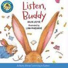 Listen Buddy 9780544003224 by Helen Lester Hardcover