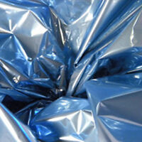 10x Slate Blue Mylar 18 X 30 Sheets In Tube Henna Tattoo Cones / Quilting