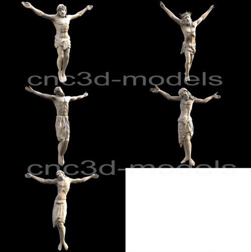 3D STL Models for CNC Router Engraver Carving Artcam Aspire Jesus Christ 207
