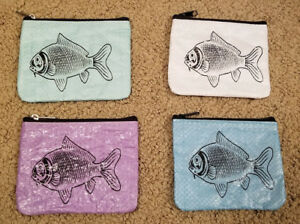 Recycled Fish Feed Man's Wallet Fair Trade Handmade in Cambodia