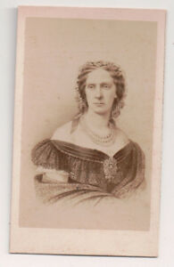 Vintage-CDV-Princess-Marie-of-Hesse-Empress-Maria-Alexandrovna-of-Russia