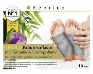 10-Kenrico-Patchs-Vitaux-TRMX-3-Krauterpflaster-avec-Tourmaline-et-Sporopllenin