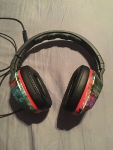 091cc932b1a Image is loading Skullcandy-Crusher-Wired-Granny-Floral-Over-Ear-Headphones