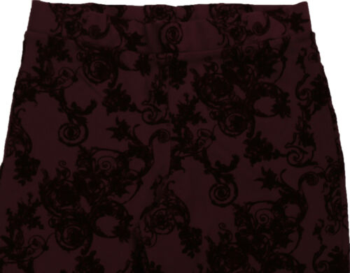 New Womens Purple Maroon NEXT Leggings Size 12 10 Regular RRP £24