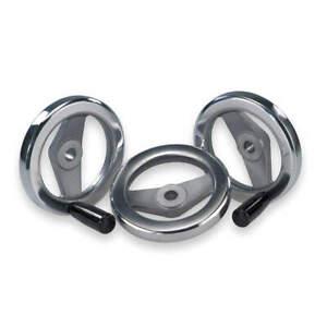 """KIPP K0162.0080XCO Hand Wheel,3/8"""",Aluminum"""