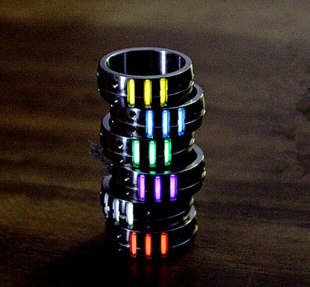 Outdoor TC4 Titanium Alloy Tactical Ring Tritium Tube Night Light  Luminous EDC  floor price