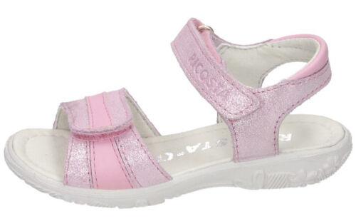 blush Ricosta Mädchen Sandale Klettverschluss pink