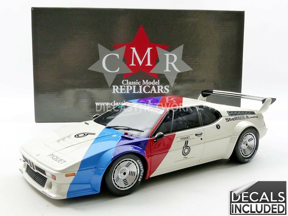 CMR BMW M1 Procar Winner procar Series 1980 Piquet  12 Scale. New Release