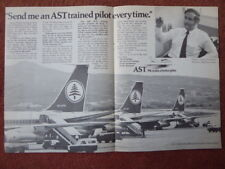 11/72 PUB AIR SERVICE TRAINING PERTH BOEING MEA BEIRUT AIRPORT CAPTAIN NASSIF AD