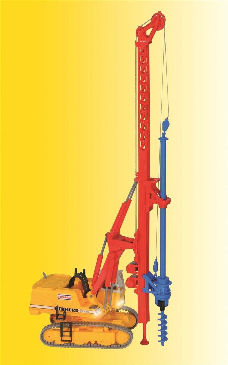 ViesshomHommes h0 21279 Pelle hydraulique M.  Appareil De Forage, BEL. Front Projecteurs NEUF  prix équitables