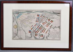 Alte-Karte-Schlacht-Gross-Jaegersdorf-Siebenjaehriger-Krieg-1757-Preussen-Russland