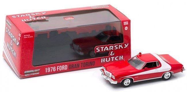 nueva marca verdelight 1 43 1976 Ford Gran Torino Estrellasky & & & Hutch Coche de Metal - 86442  Entrega directa y rápida de fábrica