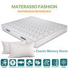 Materasso H20 singolo 95x200 Poliuretano Waterfoam cuscino memory foam