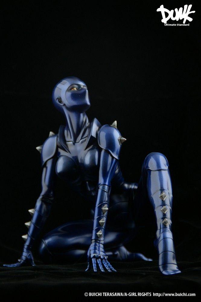 COBRA the Space Pirate LADY ARMAROID Dunk Japan Exc Statue NIP Terasawa