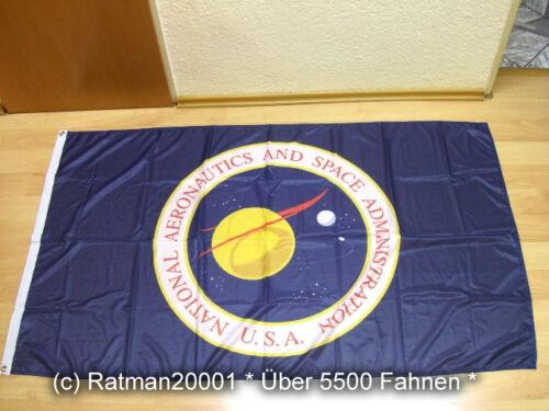 Fahne Flagge NASA USA National Aeronautics Digitaldruck - 90 x 150 cm