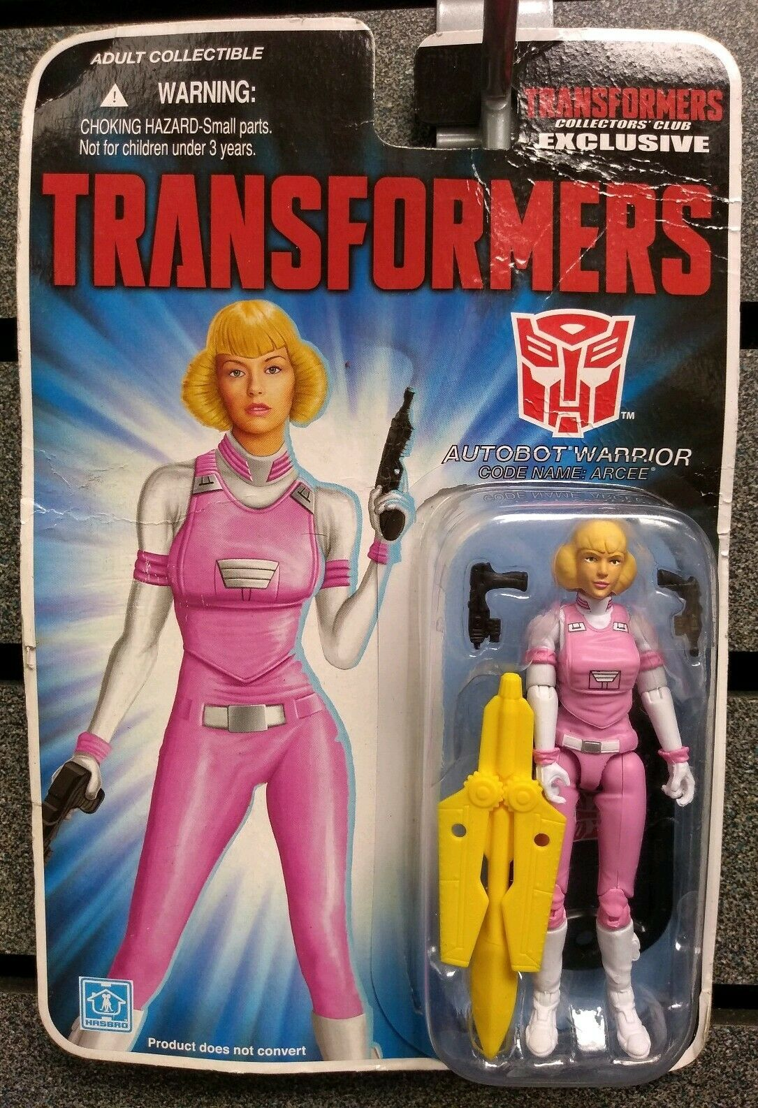 Transformers   Collectors Club Exclusive   Autobot Warrior   Arcee   NEW
