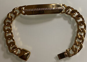 Rachel-Zoe-Bracelet-Gold-Plated-With-Crystals-8-034
