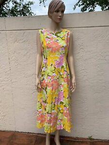 8c16179a0950f Image is loading TORI-RICHARD-HONOLULU-VINTAGE-HAWAIIAN-FLORAL-DRESS