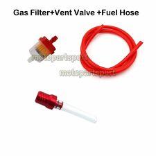 Fuel Line Hose Petrol Gas Filter Vent Valve For Mini Moto Pocket Bike Quad ATV