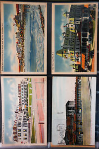 US-Old-Time-Picture-Postcard-Collection-Lot-of-180-NJ-NY-PA