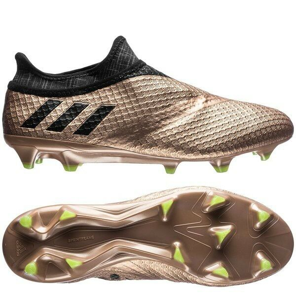 Adidas Messi 16 PureAgility FGAG Copper Metallic Mens US 11 NEW Soccer Cleat