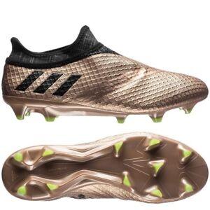 7c2fe0503 Adidas Messi 16+ PureAgility FG AG Copper Metallic Mens US 11 NEW ...