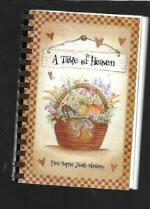 #D Cookbook FIRST BAPTIST CHURCH WAYNESBURG PA Recipes - A Taste of Heaven