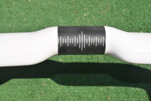 center to center USA White Road Bike Carbon Handlebar 270g durable AHB15 420mm