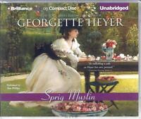 Sprig Muslin By Georgette Heyer Read By Sian Phillips Unabridged Cd Audio Book