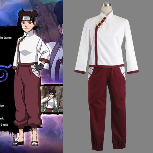 Hot! Anime Cosplay N aruto Tenten Costume Halloween Women Costumes Suit NN.192