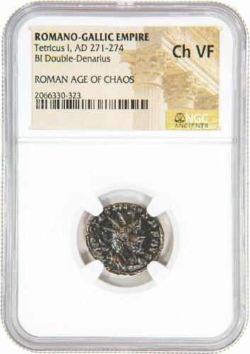AD 271-274 Roman AE Tetricus I VF NGC