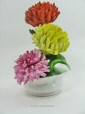 Bone China Staffordshire England - Porzellan - Blumen ca.11,2 cm hoch (3)