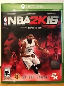NBA 2K16 - Xbox One  710425495984